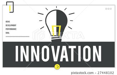 Fresh Ideas Light Bulb Graphic 27448102