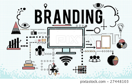 Branding Business Marketing Strategy Concept 27448103