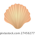 Shell icon logo element. Flat style, isolated on 27456277