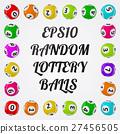ball, illustration, lottery 27456505