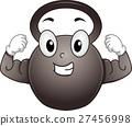 Mascot Kettle Bell Strong 27456998