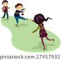 Stickman Kids Games Dodge Ball 27457032