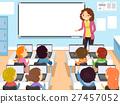 Stickman Kids Computer Class 27457052