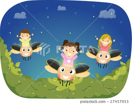 Stickman Kids Firefly Ride 27457053