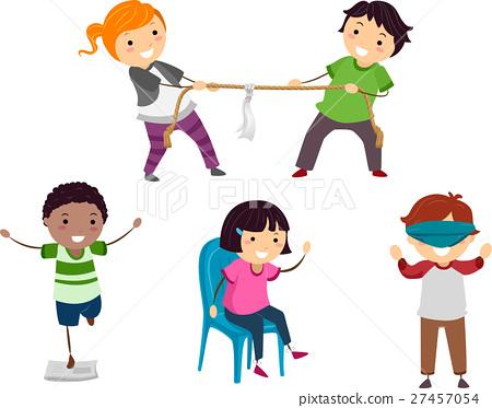 Stickman Kids Games 27457054
