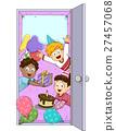 Kids Party Welcome Door 27457068