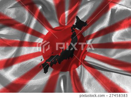 Japan national flag illustration symbol 27458383