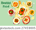 Meat and mushroom dishes icon for food design 27459005