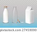 bottle, milk, icon 27459090