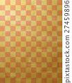 感覺和的背景材料(格子圖案,Kanoko) 27459896