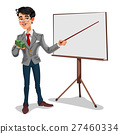 businessman in a presentation 27460334