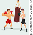 illustration of a boxer 27460382