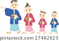 Family of hot spring yukata 27462623