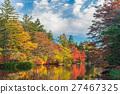 Autumn colours pond 27467325