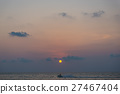 Sunset time in Patong beach 27467404