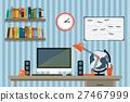 modern, workplace, vector 27467999