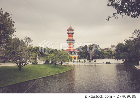 Bang Pa-In Royal Palace at Ayutthaya, Thailand 27469089