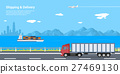 delivery, vector, shipping 27469130