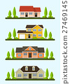 cottage houses set 27469145