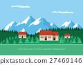 landscape house forest 27469146