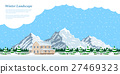 winter house landscape 27469323