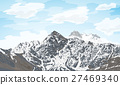 mountain peak landscape 27469340