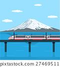train on bridge 27469511