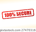 secure vector red 27470316