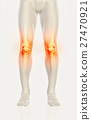 Knee painful - skeleton x-ray. 27470921
