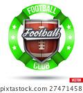 american, football, vector 27471458