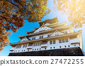 Osaka Castle in autumn 27472255