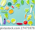 야채, 채소, 페이퍼 크래프트 27473976