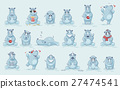 Illustrations isolated emoji character cartoon 27474541