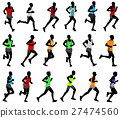 men runner vector 27474560