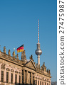 Berlin, Tv tower ,historic building (Zeughaus)  27475987