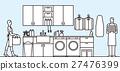 洗衣店 室内设计 室内装饰 27476399