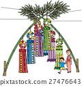 벡터, 칠석 축제, 타나바타 마츠리 27476643