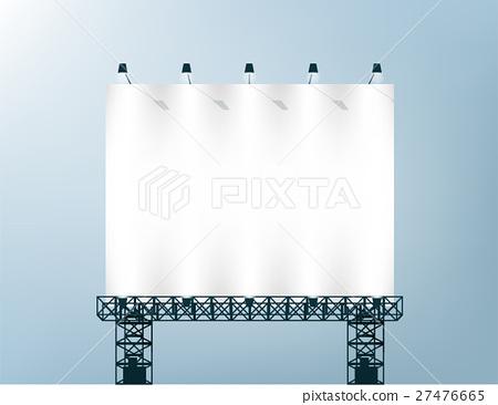vector of blank billboard for advertisement 27476665