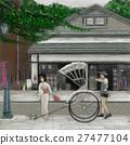 jinrikisha, rickshaw, japan 27477104