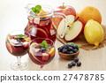 玻璃器皿 檸檬 雞尾酒 27478785