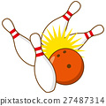 bowling vector vectors 27487314