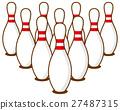 bowling illustration vector 27487315
