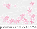 cherry blossom vector 27487756