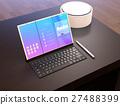 顯示器 屏幕 便箋簿 27488399