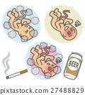 smoking, drinking, danger 27488829