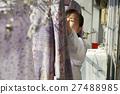 獨居的婦女住老人洗衣房 27488985