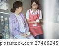 为独居老人提供护理服务 27489245