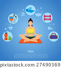 Yoga and Fitness Concept 27490369