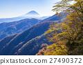 富士山 紅葉 黃葉 27490372