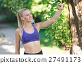 healthy lifestyle fitness sporty woman running 27491173